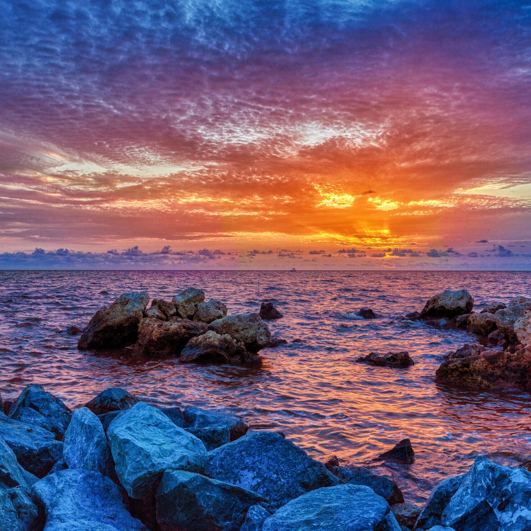 horseshoe sunset
